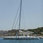 Katamaran  ..... ein Fun - Boot