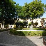 Barrakka Gärten ein kleiner Park mit einem wundervollen Blick über den Hafen
