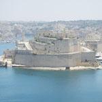 Die Festung Fort Manoel auf Island Manoel