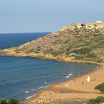 Ein schöner Blick auf Ramla Bay