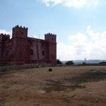 St. Agatas Tower auch Red Tower genannt