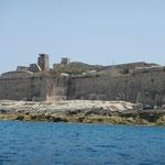 Blick auf Fort Manoel