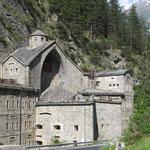 Die Festung Nauders zum Schutz von Österreich vor den Italiener
