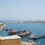 Aussicht auf den Hafen