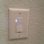 A typical Insteon lightswitch or dimmer.