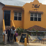 Unser Stammcafé in San José. Café Miel