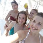 Mirka, Lena, Nadine und ich in Quepos