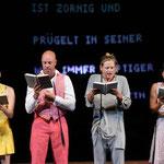 """""""Verbrechen und Strafe"""", Schauspielhaus Bochum,      R.: J. Klata (c) T.Aurin"""