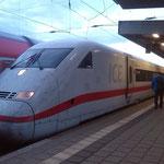 Luxuriöse ICE-Fahrt von Hamm nach Wolfsburg ;-)