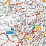 Detaillierter Streckenplan - KM 0 bis 11
