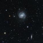 """28/03/17 M 100 - Celestron C 8 ridotto a f 6,3 - QHY8 L - NEQ6 Pro - 35 x 420""""  - Osservatorio Belvedere"""