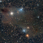 "27/10/17 Vdb 149- 150 Shark Nebula - Skywacther 150/750 - Filtro L-Pro - QHY8 L - 35 x 900"" -  Osservatorio Belvedere"
