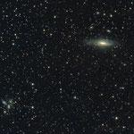 18/08/2017 NGC 7331 and Stephan's Quintet - Celestron C8 XLT f 6,3 - Canon 450 D modded L - Pro - 25 x 600 - Oss.  Belvedere