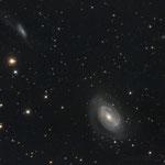 "27/03/17 NGC 4725 One Armed Spiral Galaxy - Celestron C 8 F 6,3 - QHY8 L - NEQ 6 Pro- 32 x 420 "" - Osservatorio Belvedere"