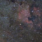 """18/07/2015 Nebulosa Nord America e Pellicano - Tamron 70-300 settato a 180 - QHY8 L - 27 x 300"""""""