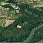 Der Schönertwald im Knie der Reuss