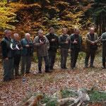in Dankbarkeit ob dem unfallfreien Jagdtag