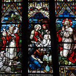 Le Bon Berger La fille de Jaïrus Jésus en prière