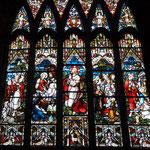 Eglise St Nicholas : épisodes de la vie de Jésus