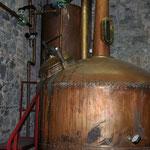 Alambic utilisé pour la distillation