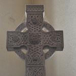 Croix celtique dans l'église St Nicholas