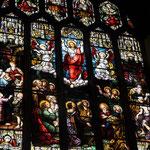 Vitrail dans l'église St Nicholas