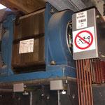 Oude liftmachine