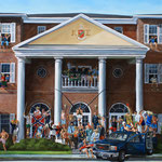 Kappa Sigma, Gainesville. Oil on Canvas, 3' x 6'. 2012.