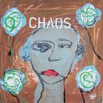Chaos - 30 x 30cm