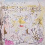 Maler & Modell - 20 x 20cm (Holzplatte)