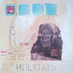 Holidays - 30 x 30cm