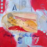 Erinnerungen an Modigliano - 30 x 30cm