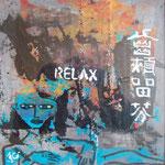 Relax - 30 x 30cm (Hartfaserplatte)