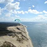 La dune du Pyla ou le rêve d'Icare