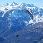 vue imprenable sur le massif du Balaïtous