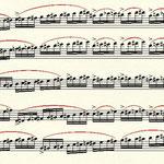 Partiturseite aus penta.chord von Doreen Rother