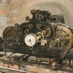 Orologio in fase di restauro