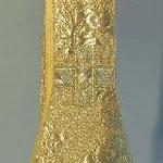 Stola damascata in oro. Manifattura italiana sec. XX