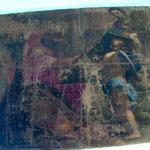 San Luca dipinge la Madonna col Bambino. Scuola senese sec. XVII