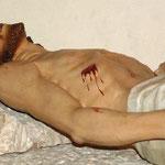 Gesù Cristo deposto, bottega di Ortisei sec. XX