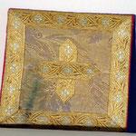 Borsa in tessuto floreale broccato. Manifattura italiana sec. XIX