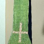 Stola verde in tela. Manifattura italiana sec. XVIII-XIX