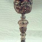Calice con la coppa color rame. Bottega toscana sec. XVII-XVIII