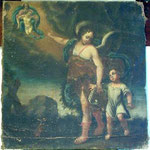 Angelo con Bambino. Scuola toscana sec. XVII