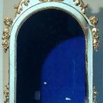 Espositorio in legno con croce apicale. Bottega toscana sec. XIX