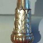 Candeliere con zampe a volute di altezza cm. 139. Bottega toscana sec. XIX