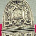 Navicella portaincenso in argento lavorato. Bottega fiorentina sec. XVIII 3/3