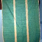 Pianeta verde con motivo damascato orizzontale. Manifattura italiana sec. XIX