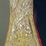 Manipolo con motivo decorativo a spighe. Manifattura italiana sec. XIX-XX