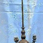 Lampada in ottone a tre braccia. Bottega toscana sec. XIX